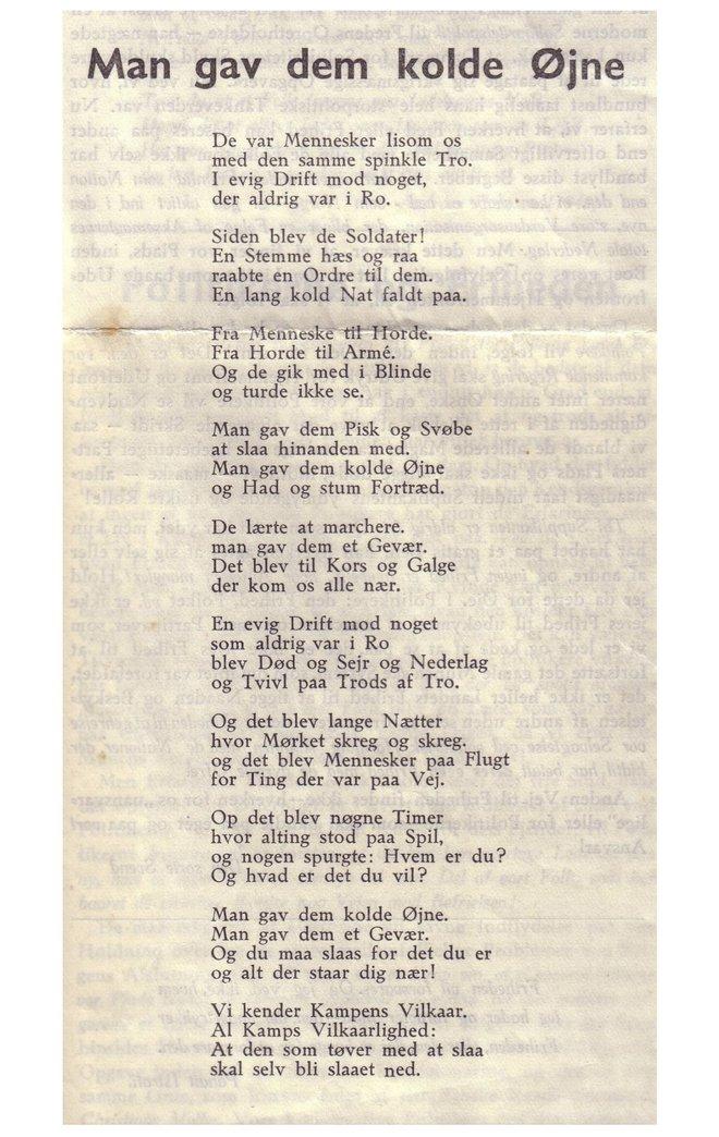 analyse af et digt